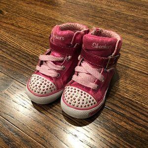 skechers high tops for toddlers